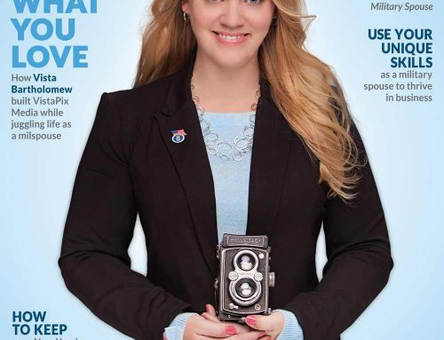 Military Spouse Magazine features VistaPix Media