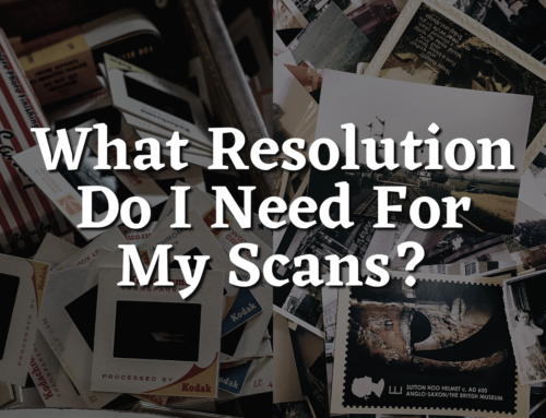 What Resolution Do I Need For My Scans?